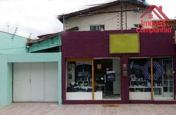 Casa Residencial E Comercial - Av. Viena Weyne, 178 Bairro Lago Jacareí À Venda, 400 M²- Fortaleza/ce - Ca0296