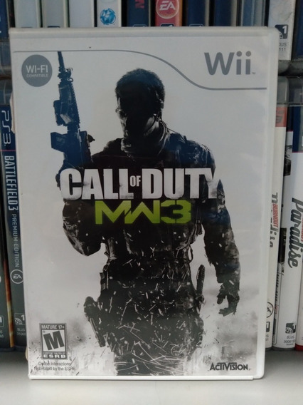Call Of Duty Mw3 Wii Original Americano | S/juros