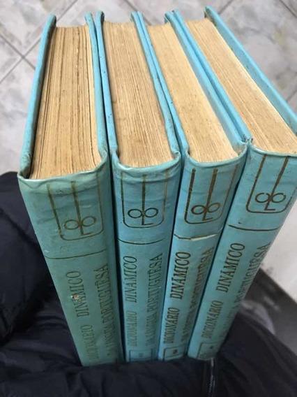 Coleção Dicionário Dinâmico Da Língua Portuguesa 4 Vol 1971