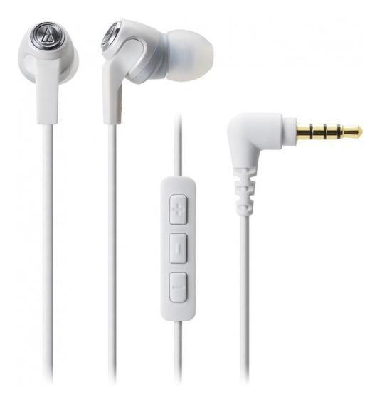 Fone De Ouvido In-ear Ath-ck323i Branco Audio Technica