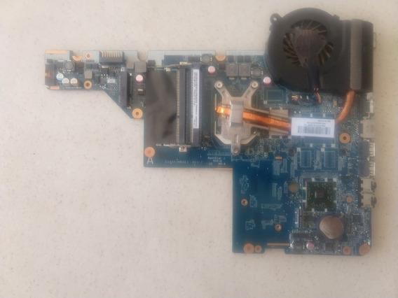 Placa-mãe Notebook Hp G42-371br Da0ax2mb6e1 + Proc. Semi Nov