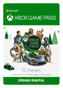 Xbox Game Pass 12 Meses Original --- Código Digital ---