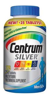 Centrum Silver Homem Men 275 Cápsulas 50+ Importado Eua