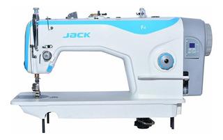Máquina de coser Industrial Jack F4 F4 Blanco 110V