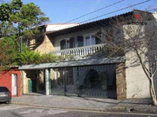 Sobrado Com 4 Dormitórios Para Alugar, 350 M² Por R$ 6.700,00/ano - Jardim Do Mar - São Bernardo Do Campo/sp - So0066