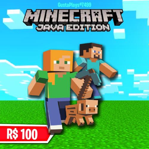 Imagem 1 de 1 de Minecraft Original Full Acesso - Java Edition Digital