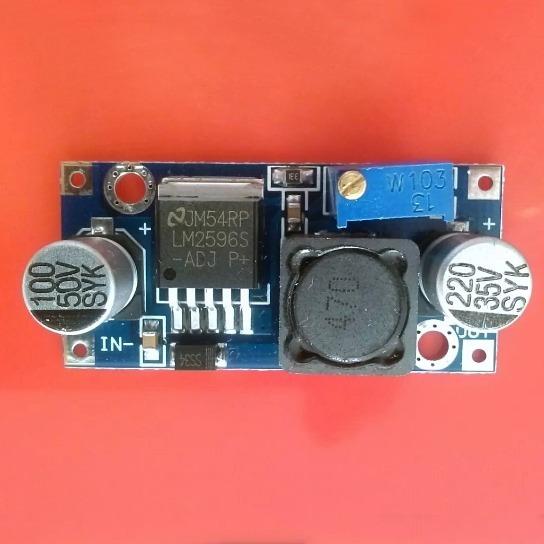 Regulador Tensão 3a Step-down Lm2596 Arduino Led Kit Com 3