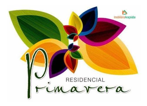 Imagem 1 de 23 de Terreno À Venda, 325 M² Por R$ 190.000 -  Residencial Primavera - Araçoiaba Da Serra/sp - Te0265