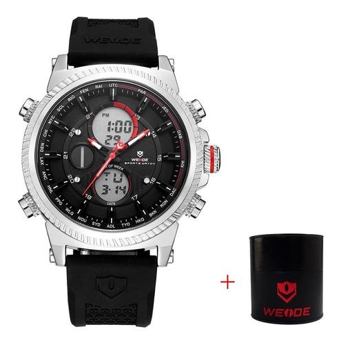 Relógio Masculino Digital E Analógico Original C/ Caixa