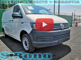 Volkswagen Transporter 2.0 Cargo Van Mt 2018 Credito + Garan