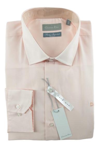Camisa Hombre Semi Entallada Christian Dior Premium