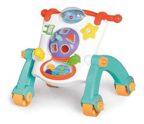 Imagen 1 de 8 de Andador Caminador  Calesita Didáctico Para Bebés 3 En 1