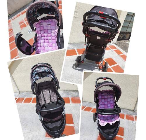 Coche Y Porta Bebé 60$ Marca Baby Trend.