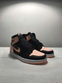 Sneakers Originales Jordan 1 Retro High Black Crimson Tint