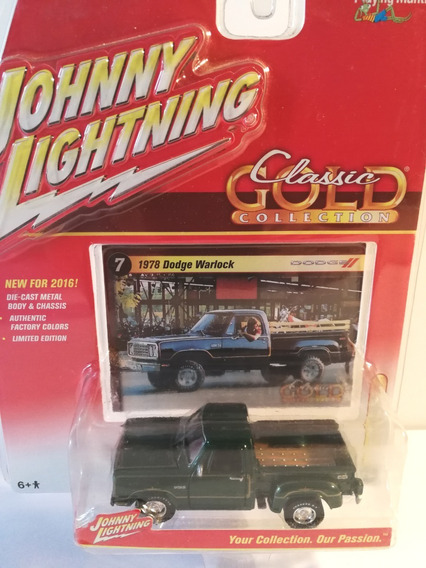 Johnny Lightning 1978 Dodge Warlock Classic Gold
