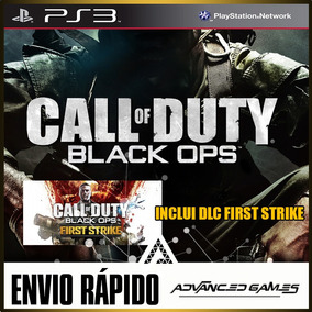 Call Of Duty Black Ops 1 Cod Bo1 + Dlc - Jogos Ps3 Psn