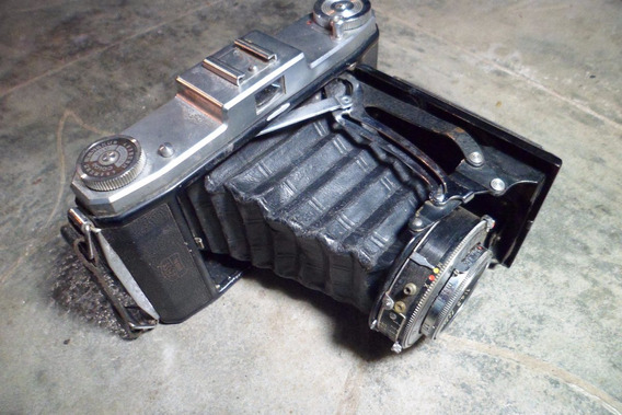 Máquina Fotográfica Antiga Marca Nettar (sanfona )