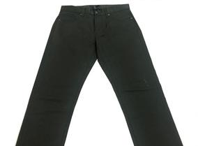 Pantalon Forever 21 Verde Oscuro Nuevo C/ Detalle Y Etiqueta