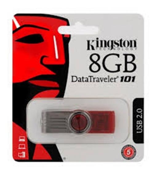 Pendrive 8 Gb Kingston Data Traveller 101 Originales