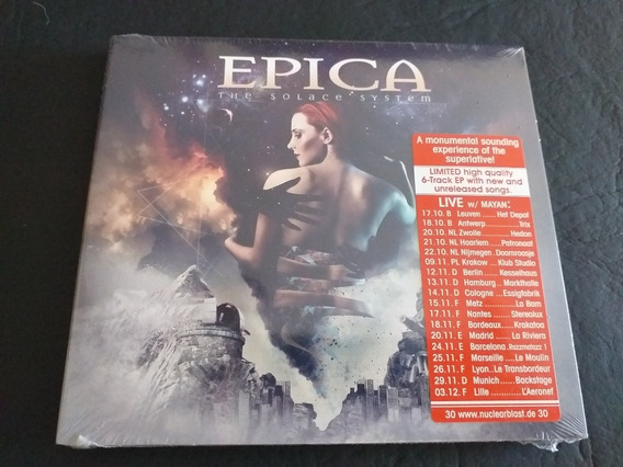Epica: The Solace System Digipack . ( Tarja ) ( Delain )