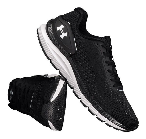 Tênis Under Armour Charged Skyline Gray Black. Cod 04