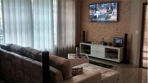 Imagem 1 de 30 de Ótima Casa Térrea À Venda, 3 Dormitórios, 4 Vagas - Vila Assunção - Santo André - 39994
