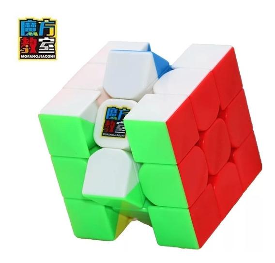 Cubo Mágico Profissional 3x3x3 Mf3rs 5,6cm + Base