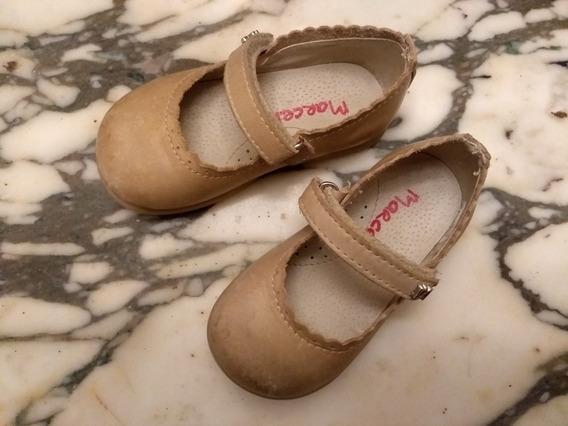 Zapatos Guillermina De Cuero Talle 21