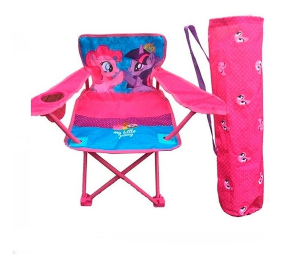 My Little Pony Silla Pleg. C/funda Y Apoya Vasos 1252