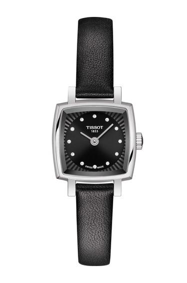 Reloj Tissot Lovely Square Piel Para Dama Time Square