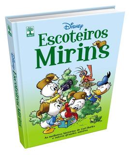 Escoteiros Mirins - Disney - Edição Luxo Capa Dura - Hq