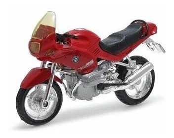 Miniatura Moto Bmw R1100 Rs Escala 1:18 Vermelho ( Maisto )