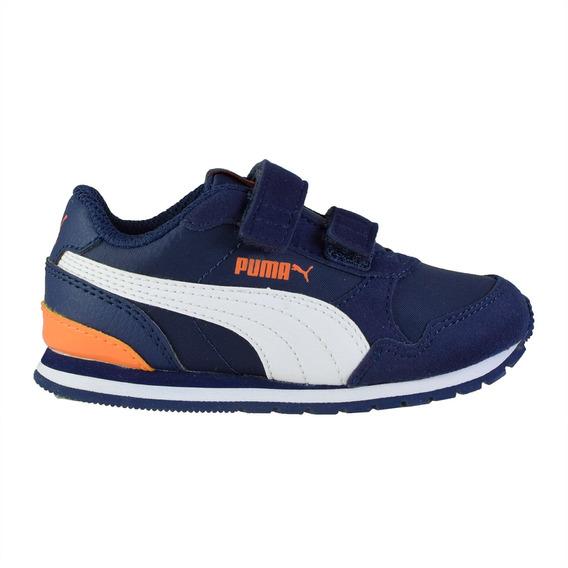 Zapatillas Puma St Runner V2 V Bebés Blue/wh