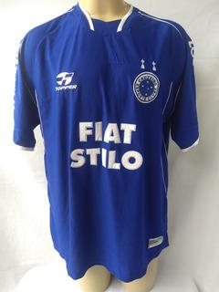 Camisa Cruzeiro 2003 Dedicada Ao Alvimar Perrella # 10 Stilo