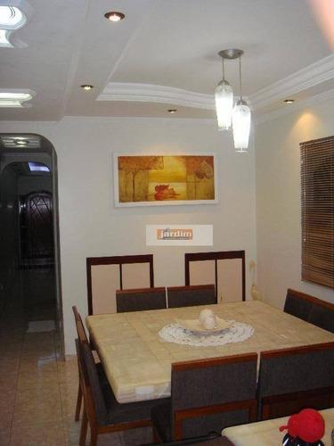 Sobrado Residencial À Venda, Montanhão, São Bernardo Do Campo. - So1804