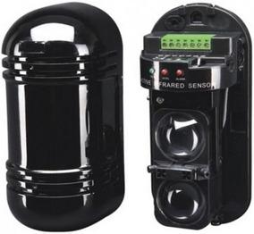 Sensor De Barreira Ativa Duplo Feixe Infravermelho 100metros