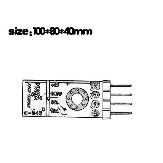 Prusa I3 Mk3 3d Filamento Printer Sensor Detecção Preso Fi