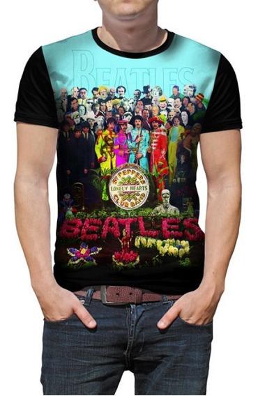 Camiseta The Beatles - Sgt. Pepper