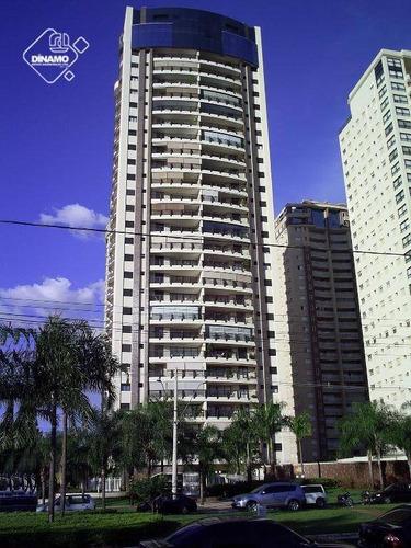 Apartamento Com 4 Dormitórios À Venda, 239,69 M² - Jardim Santa Ângela - Ribeirão Preto/sp - Ap1077