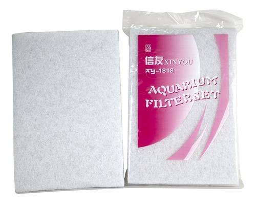 Espuma Acuario Filtro Bio Mecanico Guata Blanca 90x30x2cm