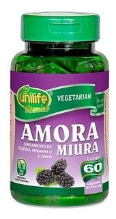 Amora Miúra Unilife 500mg 60caps - Antioxidante