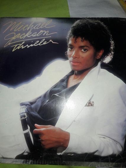 Raridade Disco De Vinil Michael Jackson Trilher..