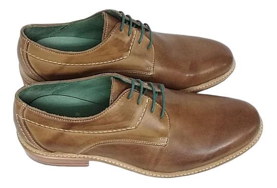 Zapato Hombre Oxfort Cuero Vacuno