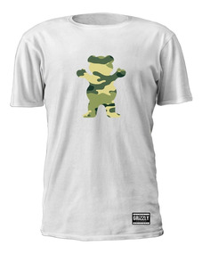 Camiseta Grizzly Skate Logo Bear Dgk T-shirt Diamond Rap Top