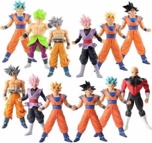 Dragon Ball Súper Muñeco Goku Jiren Vegeta Broly Y Muchos ++