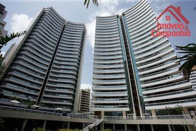 Apartamento Com 4 Dormitórios À Venda, 258 M² Por R$ 2.500.000 - Meireles - Fortaleza/ce - Ap1533