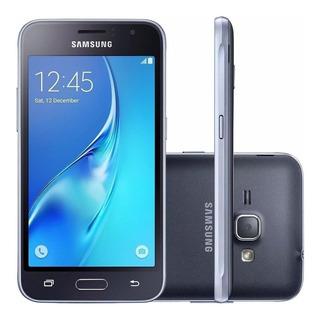 Celular Samsung Galaxy J1 2016 J120 Duos 8gb Origin. Preto
