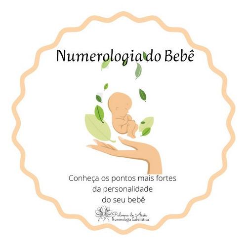 Imagem 1 de 4 de Mapa Numerológico Da Personalidade Do Bebê.
