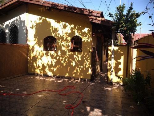 Casa Lado Praia Com 3 Quartos Em Itanhaém/sp 7021-pc