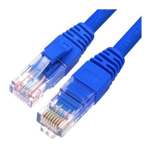 Cable De Red 8 Metros Armado Utp Pc Módem Smart Cat. 5e Rj45